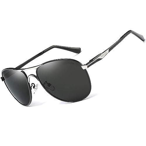 086f3d3ab74f2 AORON Driving Polarized Sunglasses Classic Sports Pilot Glasses 100% UV400  Eyewear