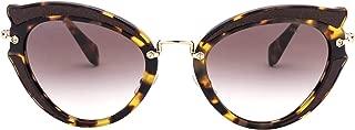 Luxury Fashion   Miu Miu Womens MU05SSVIF3D052 Brown Sunglasses   Fall Winter 19