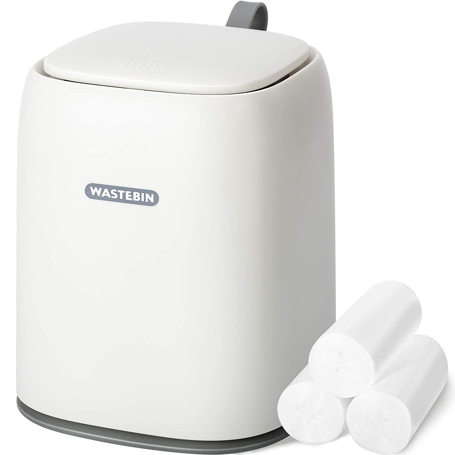 Mini Countertop Trash Can Department store Limited price sale with of Waste 3 Rolls Bags