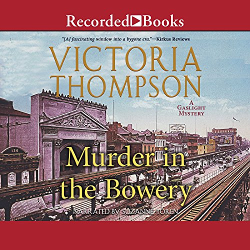 Murder in the Bowery cover art