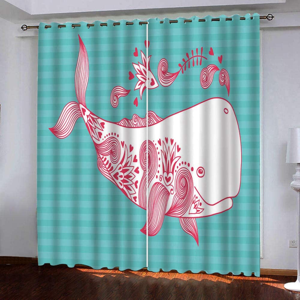 Blackout Curtains Max 53% OFF Bedroom Cute Living Room for Courier shipping free Animal