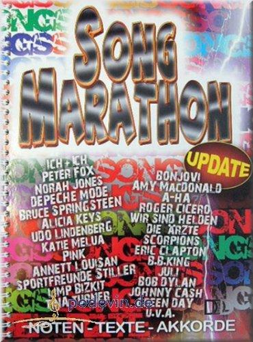 Song Marathon Update - Noten Liederbuch [Musiknoten]