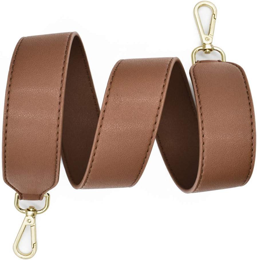 TININNA Ajustable Universal Correa de Hombro Cintur/ón Bolsa Accesorios Bolso De Hombro del Cintur/ón Recambio Desmontables para Mujeres 120CM,Negro