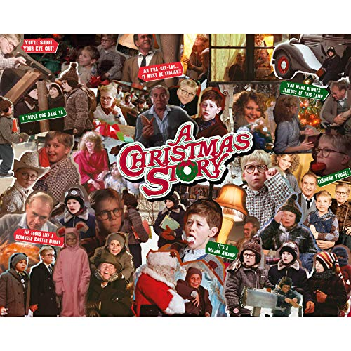 Paladone A Christmas Story 1000 Piece Jigsaw Puzzle - Classic Movie Collage (PP7844CS)