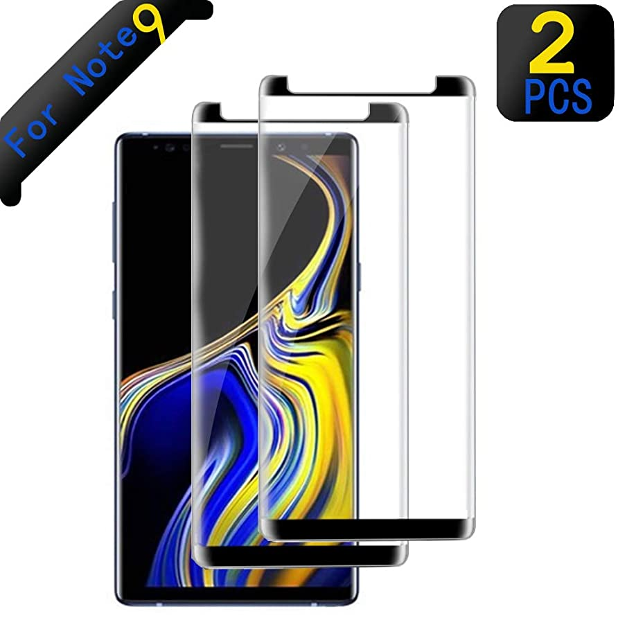 [2-Pack] Note 9 Tempered Glass Screen Protector,Screen Protector for Samsung Galaxy Note 9, [Anti-Bubble][9H Hardness][HD Clear], Tempered Glass Screen Protector Compatible with Samsung Note 9.