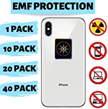 EMF Radiation Protection for CELLPHONES/Laptop - Anti EMF/EMR Radiation Sticker - Radiation Neutralizer Shield Blocker - Remove Electronic Technologies WI-FI, Bluetooth