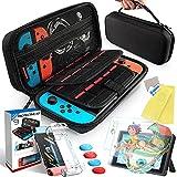 Th-some Kit de Accesorios 14 en 1 para Nintendo Switch, Funda Protectora para Interruptor Nintendo, Cubierta...