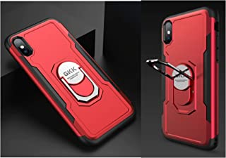 iPhone X/iPhone XS Armor Case Mobile Cover From GKK - Red Cover + 1 Red Cover