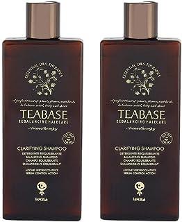 Shampoo detergente professionale DUO PACK 2 x 250 ml tecna the spa teabase aromatherapy clarifying shampoo 500ml PROMOZION...
