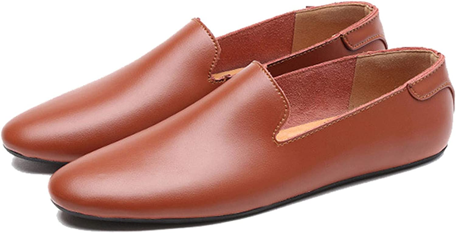 82d8e8b4225c Thadensama New Summer Breathable Soft Genuine Leather Flats Loafers ...
