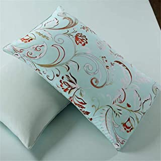 YIH Cotton Duvet Cover Set 3 Pieces Floral, 800 Thread Count Luxurious Bedding Sets, Durable Hypoallergenic Ultra Soft Bre...