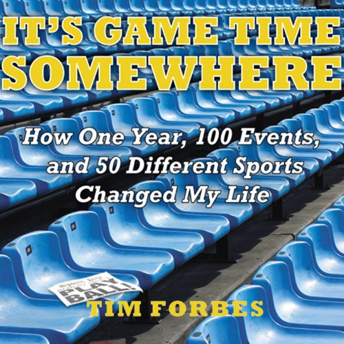 It's Game Time Somewhere audiobook cover art