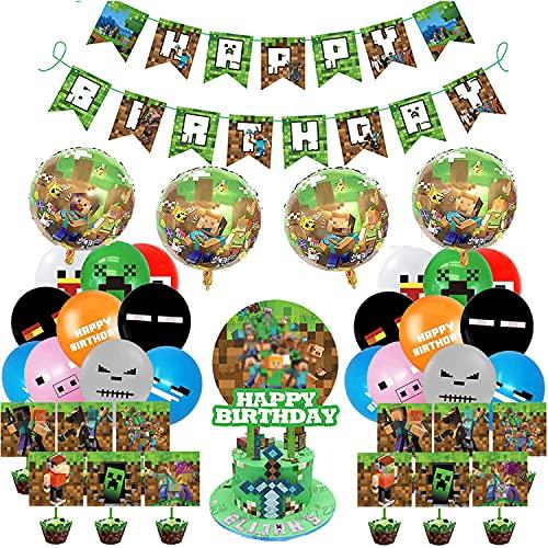 Decoración de Cumpleaños de Videojuegos de...