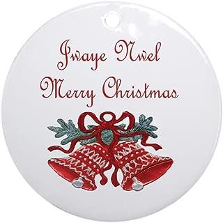 CafePress Haitian Christmas Ornament (Round) Round Holiday Christmas Ornament