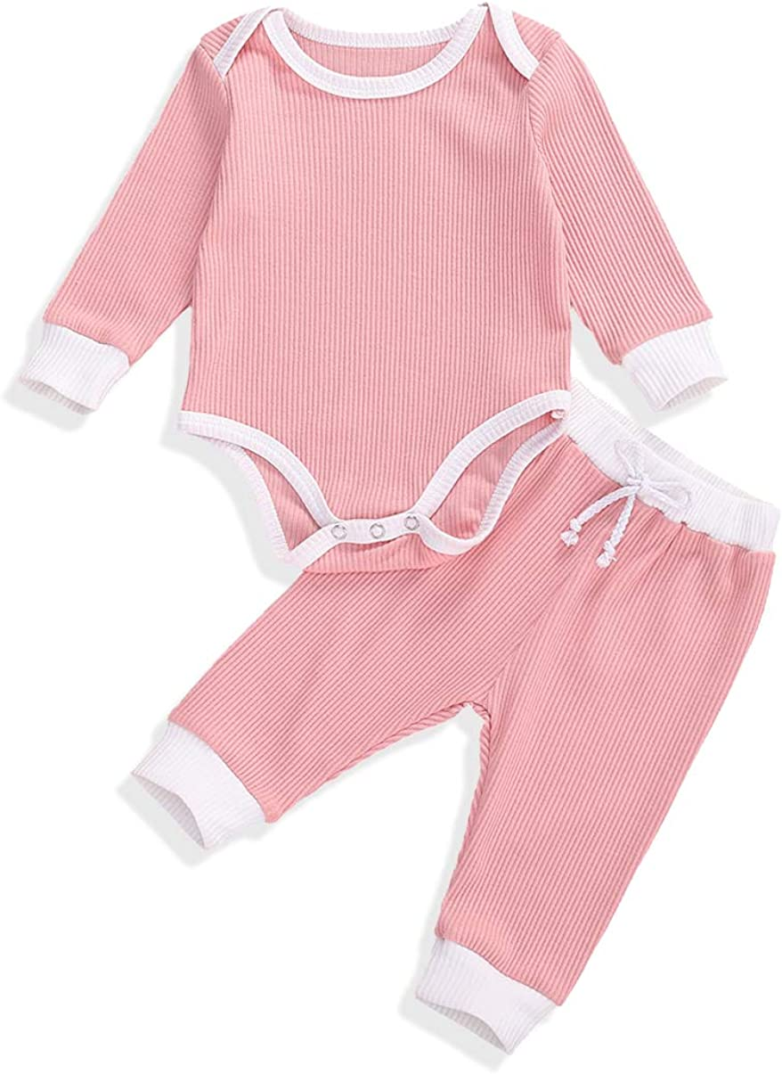 Winter Outfit Clothes Set for Baby Boy Girl Pants Set Tops+Pants