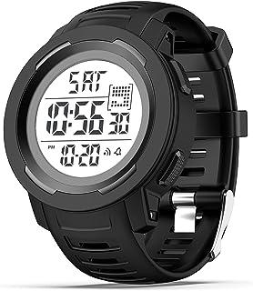 Reloj deportivo digital para hombre Militar relojes para hombres impermeable cronómetro alarma reloj militar