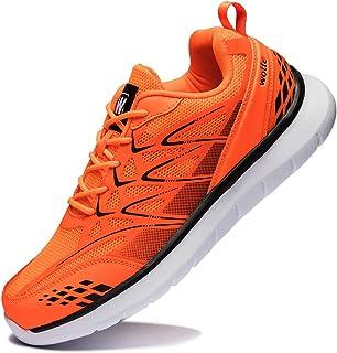 Anbenser Mens Walking Shoes Lightweight Mesh Casual Shoe Comfort MD Fishbone Type Non-Slip Sole