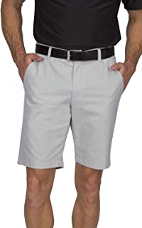 Dry Fit Golf Shorts for Men - Tapered Slim Fit Chinos - Mens Shorts Athletic