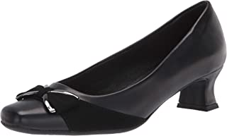 Easy Street womens Pump, Black, 9 X-Wide US