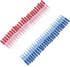 Demiawaking 50pcs Spazzolini Interdentali di Plastica Scovolini per Denti per Igiene dei Denti