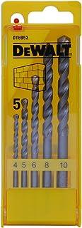 Dewalt DT6952-QZ DT6952-QZ-Juego de 5 brocas para piedra en