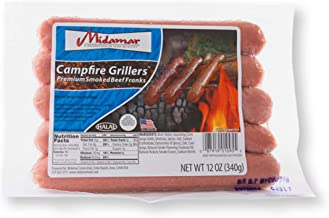 Campfire Grillers - Halal Smoked franks - 16/12 oz pkgs