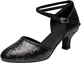 Latin Dance Shoes Women On Sale Clearance,melupa Ballroom Tango Latin Salsa Dancing Sequins Shoes