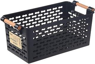 chaozhi Panier de Rangement, Rangement de boîte en Plastique, Organisateur de Rangement de Placard de Cuisine Portable boî...