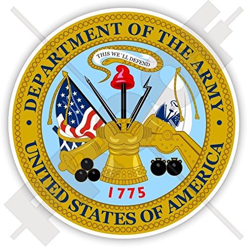 US Department of The Army Sceau USA États-Unis Amérique, Américain, 90mm Vinyl Sticker, Autocollant
