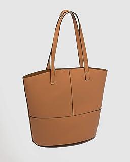 Caramel Ello Medium Bucket Tote Bag