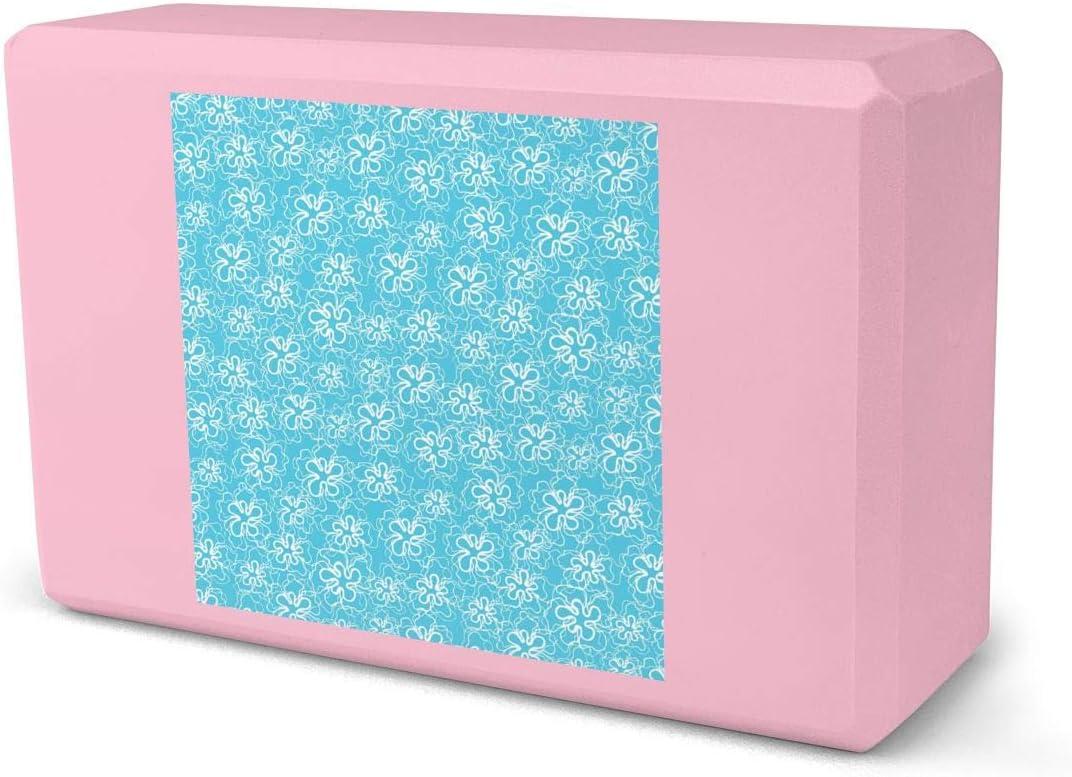 IPOXK 25% Cash special price OFF Yoga Block,Blue Seamless Block,EVA F Pattern Foam