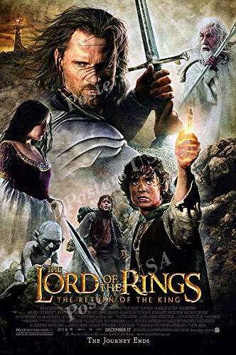 Posters USA - The Lord of the Rings The Return of the King Movie Poster GLOSSY FINISH - MOV158 (16' x 24' (41cm x 61cm))