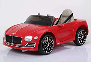 Bentley Kids Ride On Car Red EVA Plus Leather Officially Licensed R/C By RAYAN TOYS