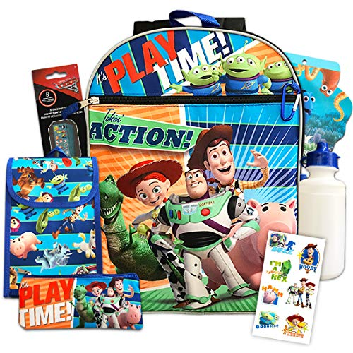 Disney Toy Story Backpack Set - Bundle Includes 16