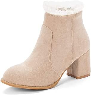 BalaMasa Womens ABS14017 Pu Boots