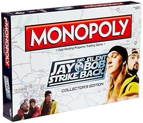 Jay and Silent Bob Strike Back Monopoly Board Game