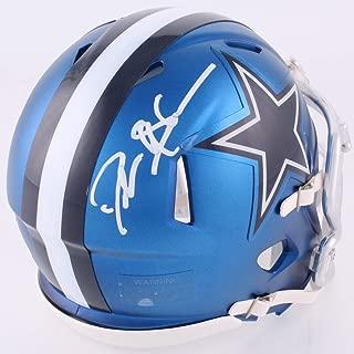 Jason Witten Dallas Cowboys Signed Autograph BLAZE Speed Mini Helmet Witten 82 Player Hologram JSA Witnessed Certified
