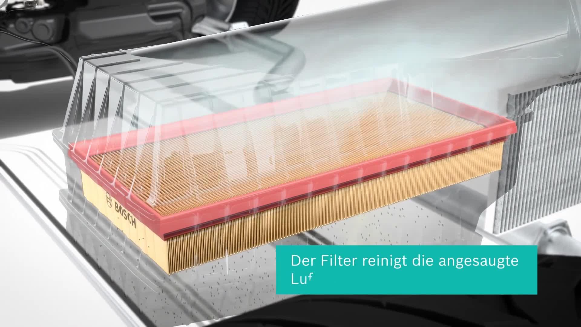 Bosch F026400119 Luftfiltereinsatz Auto