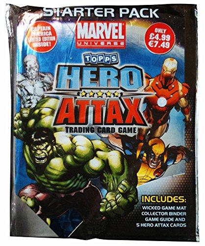 Topps TO90302 - Hero Attax Starter