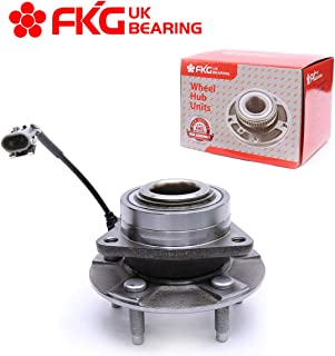 FKG 513189 Front Wheel Bearing Hub Assembly for 2002-2007 Saturn Vue, 2006 Pontiac Torrent, 2005-2006 Chevy Equinox, 5 Lugs W/ABS
