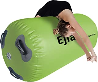 EJIA Inflatable Tumbling Mat 24 inches Thickness Air Roller Gymnastics Mat with Hand Pump for Home Use/Tumble/Gym/Training...