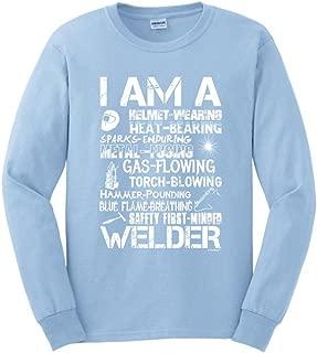I am a Welder, Badass Welding Gift Long Sleeve T-Shirt