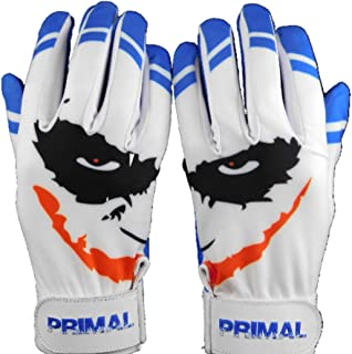 Primal Baseball Youth Cool Blue Smiley Batting Gloves