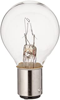 120V Halogen Light Bulb Bulbconnection Ushio BC6454 1001298-500W QIR Heat Lamp Metal Sleeve and Wire Leads Translucent