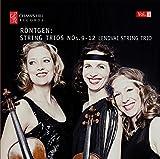 Röntgen: Streichtrios Vol. 3, Nr.9-12 - Lendvai String Trio