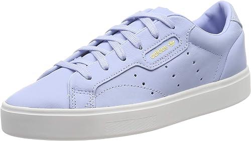 Adidas Sleek W, Hauszapatos de Deporte para mujer