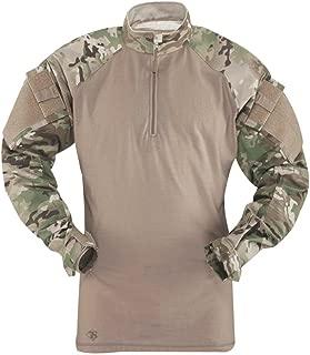 65/35 Polyester/Cotton Rip-Stop 1/4 Zip Tactical Response Combat Shirt