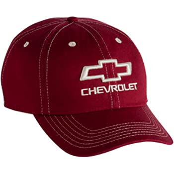 Bundle Includes 1 Hat and 1 Driving Style Decal Gregs Automotive Chevrolet Chevy Bowtie Hat Cap Red