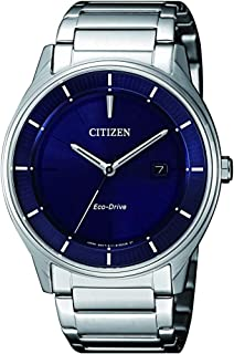 Citizen Men Blue Dial Stainless Steel Band Watch - BM7400-80L