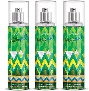 Layer'r SPELL BOUND * 135ml each - SB3 Body Spray - For Women (405 ml, Pack of 3)